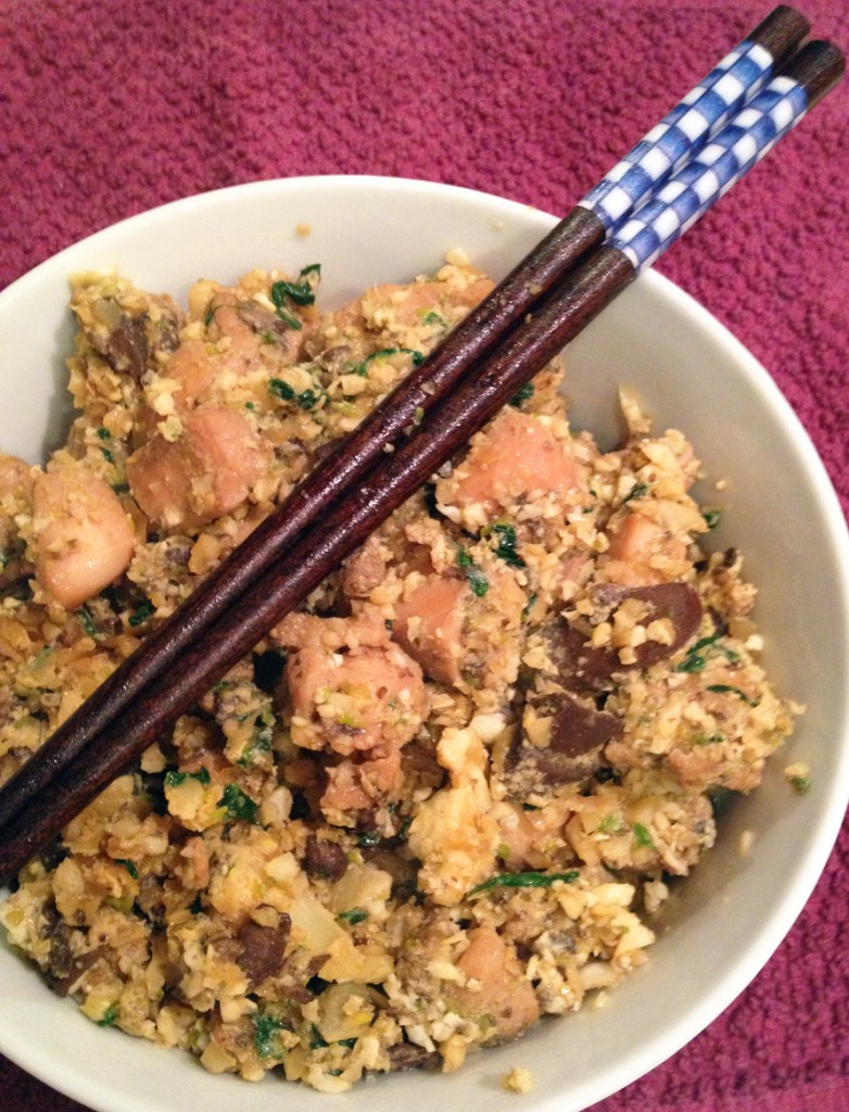 faux fried rice